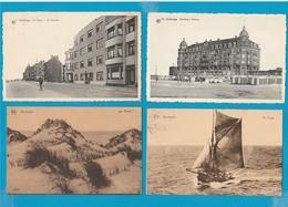 BELGIË Bredene, De Haan, Wenduine, Zeebrugge, Lot Van 73 Postkaarten. - Cartes Postales
