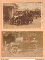 Auto Autos Voitures Anciennes Françaises Ancient French Cars First 900s - Automobili