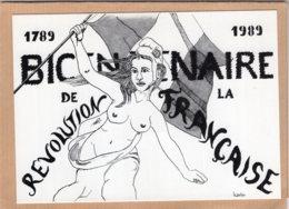 B55091 Bicentenaire De La Révolution, Illustrateur Bernard Lejolly - Non Classés