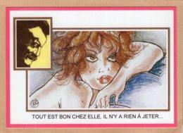 B55107 Les Copains D'encore, ChezGeorges Brassens, Chanson, Il N'ya Rien à Jeter - Cartes Postales