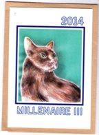B55113 Chat :  Catus, A L'enseigne De Maître Matou,IIIe Millénaire 2014 , Imagier Théo Thiercy - Cartes Postales