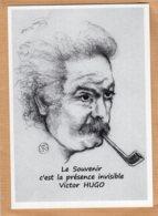 B55116 G. Brassens, Portrait, Citation De Victor Hugo, Imagier Théo Thiercy - Cartes Postales