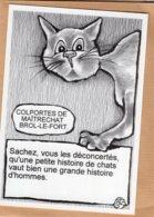 B55127 Chat - Leschatz'amoi, Colportes ,  Imagier Théo Thiercy - Cartes Postales