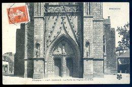 Cpa  Du 29 Carhaix La Porte De L' église De Grâce    YN53 - Carhaix-Plouguer