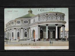 Venezuela 1929 Tarjeta Postal Circulada. De Caracas A Colombia - Venezuela