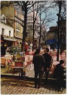Paris: PEUGEOT 403 FAMILIALE - Montmartre, Place Du Tertre - Toerisme