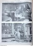 Les Chinois En Amérique -la Ville Chinoise De San Francisco - Fumerie D'Opium - Page Original 1901 - Documents Historiques