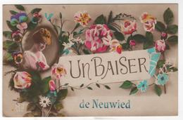 CPA Allemagne : Un BAISER De NEUWIED - Ed. Fabrication Française - 1924 - Other