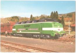 Dépt 63 - VERTOLAYE - Locomotive CC 65005 (train Produits Chimiques ROUSSEL-UCLAF) - Photo M. Peytavy (tirage 1.000 Ex.) - France