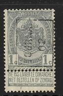Tournai 1902  Nr. 439A - Precancels