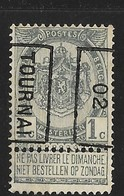 Tournai 1902  Nr. 439B - Precancels