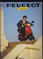 Scooter, Velomoteur Peugeot - Catalogue 1984 - Nombreuses Illustrations - Publicités