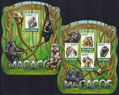 Mozambique  2015 - Macacos Of Africa - Animals - Stamps Perf. MNH**  XF - Stamps