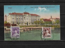 Rumania 1928 Tarjeta Postal Circulada De Lugoj A Gran Bretaña - Rumania