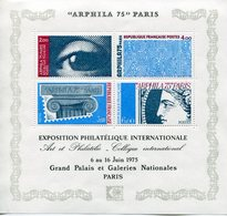 ARPHILA 75, EXPOSITION PHILATELIQUE INTERNATIONALE 1975 Y&T BF7 - Neufs *** - Mint/Hinged