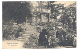 CPA Exposition De Nancy - 56 - L'Aquarium - Nancy