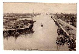 CPSM Dunkerque 59 Nord Le Chenal Bateaux Voiliers Hangar Gondrand Frères éditeur CAP N°109 - Dunkerque