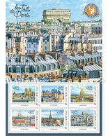 France 2018 - Collector - Toits De Paris - Arc De Triomphe - Lettre Verte ** - France