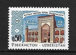 OUZBEKISTAN 1992 ARCHITECTURE   YVERT N°4  NEUF MNH** - Ouzbékistan