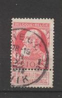 COB 74 Oblitéré LIEGE 1 B - 1905 Grosse Barbe