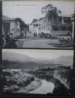 Indochine Lot 2 Cpa Laokai Rue Principale Et Hokeou Chine - Viêt-Nam