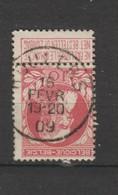 COB 74 Oblitéré ROULERS - 1905 Grosse Barbe