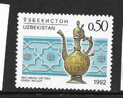 OUZBEKISTAN 1992 ART OUZBEK   YVERT N°6  NEUF MNH** - Ouzbékistan