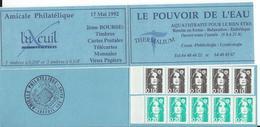 Carnet Privé De  LUXEUIL Bourse Du 17 Mai 1992 - Booklets
