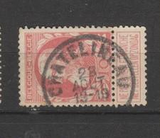 COB 74 Oblitéré CHATELINEAU - 1905 Grosse Barbe
