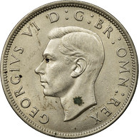 Monnaie, Grande-Bretagne, George VI, 1/2 Crown, 1947, SUP, Copper-nickel, KM:866 - 1902-1971 : Monnaies Post-Victoriennes