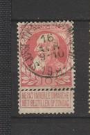COB 74 Oblitéré ST-JOSSE-TEN-NOODE Rue Du Méridien - 1905 Grosse Barbe