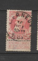 COB 74 Oblitéré LIERNEUX - 1905 Grosse Barbe