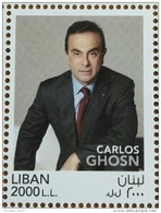 Lebanon 2017 NEW MNH Stamp - Carlos Ghosn Most Automobile Industry Famous Executive - Lebanon