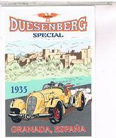 PUBICITE  AUTOMOBILE  DUESENBERG  1935 GRANADA - Pubblicitari