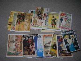 Lot De 200 Cartes Postales Cpm Fantaisie Publicite Ancienne Type Affiche Ou Carton Tout Theme Bon Etat - Cartes Postales