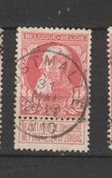 COB 74 Oblitéré OOSTMALLE - 1905 Grosse Barbe