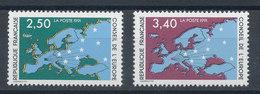 106 Et 107** Conseil De L'Europe 1991 - Neufs