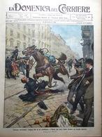La Domenica Del Corriere 13 Febbraio 1910 Senna Chantecler Rostand Edison Belli - Books, Magazines, Comics