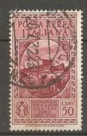 PA  Yv. N° 32,  SASS  N° A32   (o)  50c  Garibaldi  Cote  2,25 Euro BE  2 Scans - 1900-44 Victor Emmanuel III