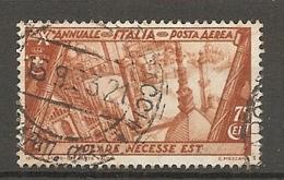 PA  Yv. N° 40,  SASS  N° A43   (o)  50c  Marche Sur Rome  Cote  11 Euro BE  2 Scans - 1900-44 Vittorio Emanuele III