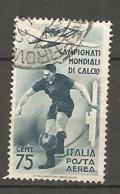 PA  Yv. N° 65,  SASS  N° A70   (o)  75c  Coupe De Football  Cote  15 Euro BE  2 Scans - 1900-44 Vittorio Emanuele III