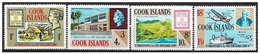 COOK ISLANDS 1967, 75 Years Stamps   - Mi. 148/51 - Yv. 156/59 Serie Cpl. 4v.  Nuovi** Perfetti - Cook