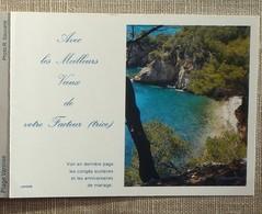 Petit Calendrier Poche 1993 Lavigne PTT Facteur  La Poste Paysage Plage Varoise - Petit Format : 1991-00