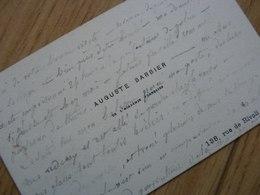 Auguste BARBIER Cdv - Autographes