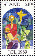 USED STAMPS Iceland - Christmas Stamps - 1989 - 1944-... Republik