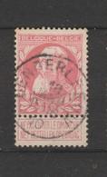 COB 74 Oblitéré DENDERLEEUW - 1905 Grosse Barbe