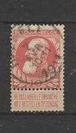 COB 74 Oblitéré HASSELT - 1905 Grosse Barbe
