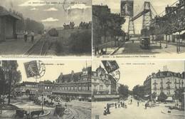 LOT DE 24 REPRODUCTIONS DE CARTES POSTALE ANCIENNES DIVERSES LES TRANSPORTS ET COMMUNICATIONS  FRANCAIS - Postcards