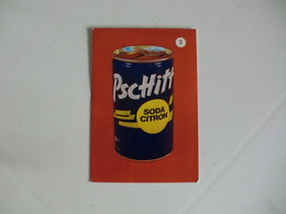 Drink Pschitt Soda Citron Portugal Portuguese Pocket Calendar 1988 - Calendriers