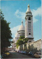 Paris: PEUGEOT 403, CABRIOLET, RENAULT 4CV, SIMCA ARONDE '56, VW 1200 KÄFER/COX - Panorama Tour Sacré-Coeur - Toerisme
